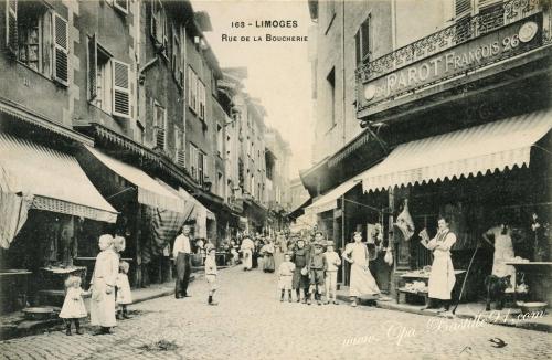 Carte-Postale-Ancienne-Limoges-Rue-de-la-Boucherie.jpg